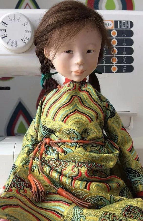 布里亚特美女制作的蒙古布娃娃,太可爱了! 第13张 布里亚特美女制作的蒙古布娃娃,太可爱了! 蒙古工艺