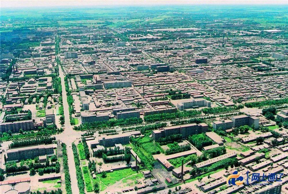 老照片丨80年代的通辽城....