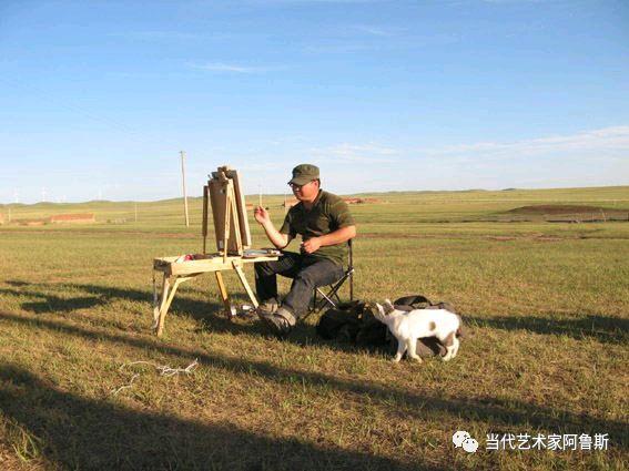 《艺术世界本期专访》知名画家王中林油画作品展