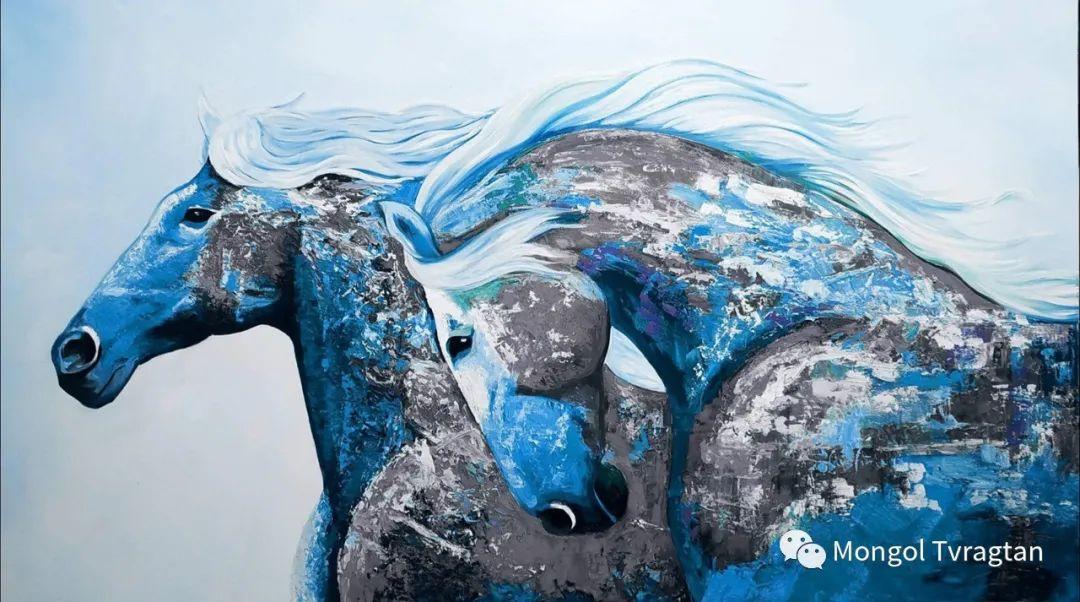 布.孟和宝鲁德美术作品 ᠣᠷᠠᠨ ᠵᠢᠷᠣᠭ- ᠪ᠂ᠮᠥᠩᠬᠡᠪᠣᠯᠤᠳ