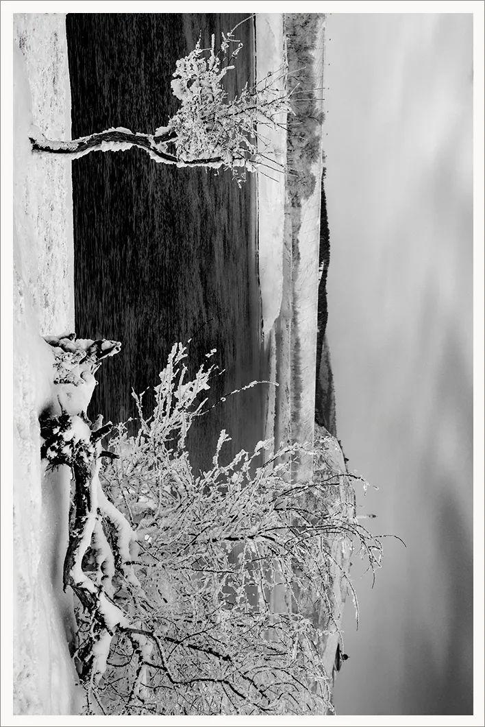 作品欣赏 | 故乡的不冻河