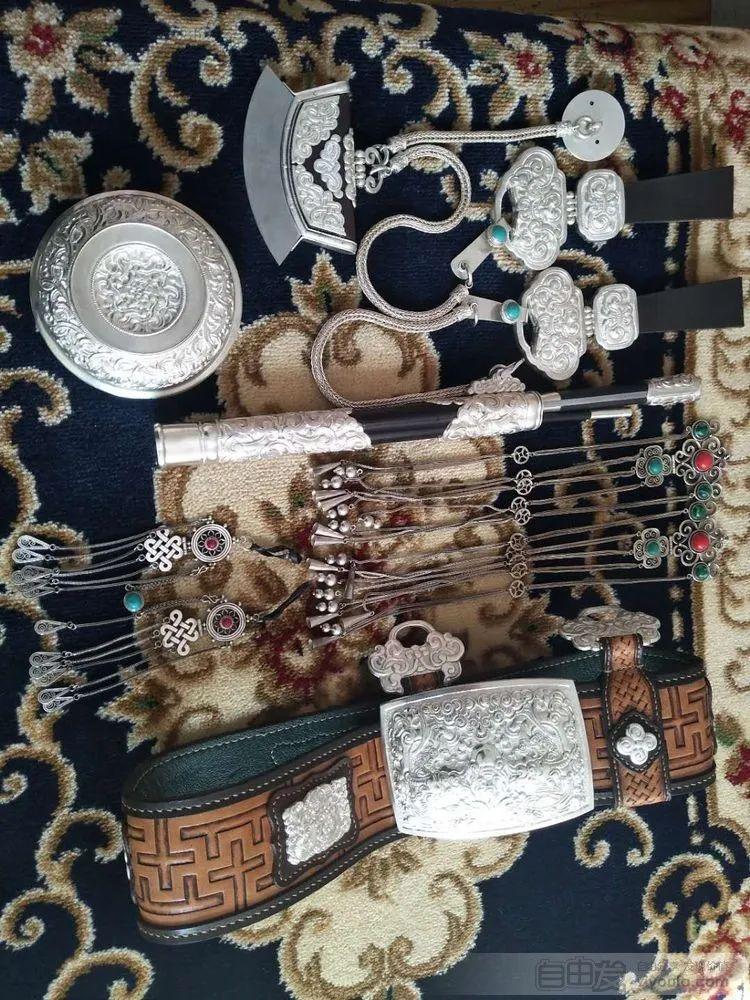 非物质文化遗产——蒙古族银器制作