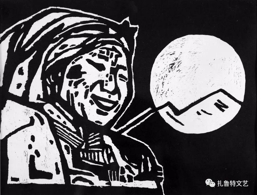 """""""同心向党·百年丰碑""""庆祝建党100周年扎鲁特版画展作品欣赏(六)"""